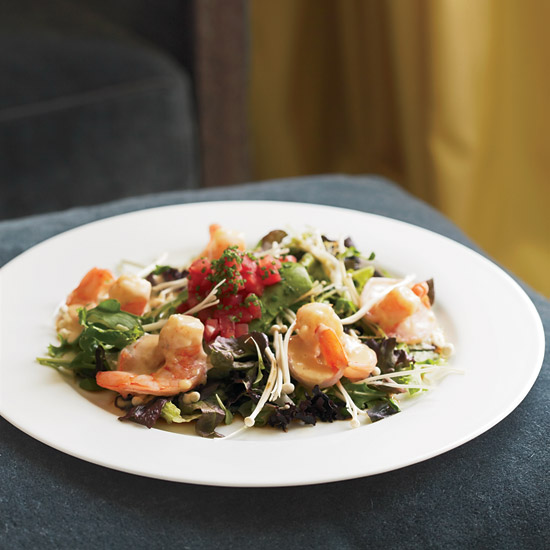 The Mark's Shrimp-and-Avocado Salad