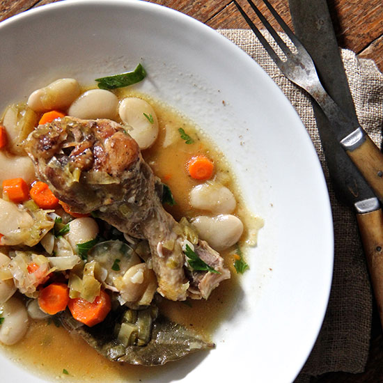 Chicken and White Bean Cassoulet