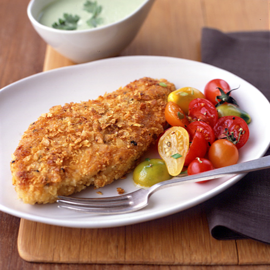 Amazon Fried Chicken Breasts With Cilantro Sauce Recipe Michael Cord 250 A Food Amp Wine