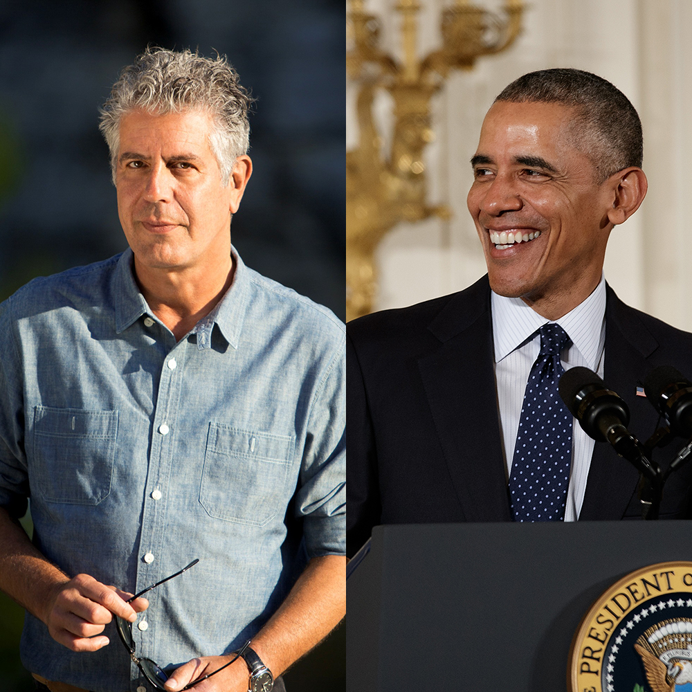 Anthony Bourdain and Obama Dinner in Vietnam