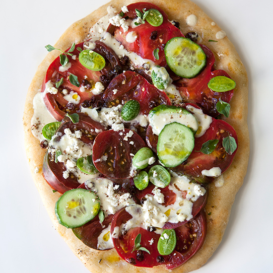 BOLLA0715-HD-heirloom-tomato-salad-flatbreads-with-pepperoncini-tahini-dressing.jpg