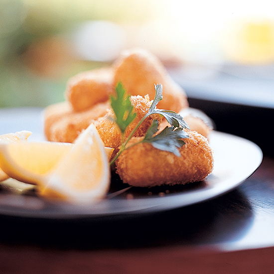 Pan-Fried Tuna Croquettes