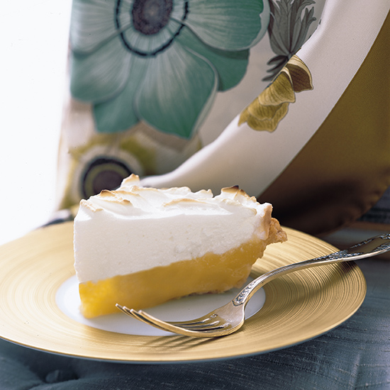 Lemon-Passion Fruit Meringue Pie