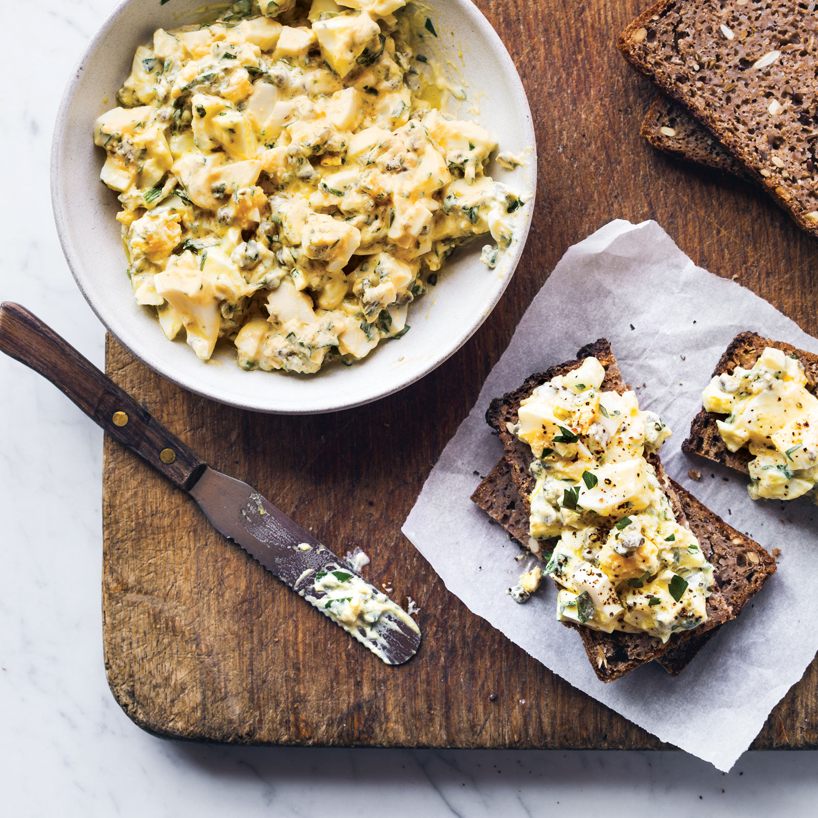 Herbed Egg Salad