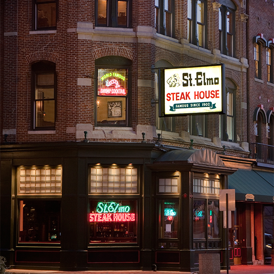 St. Elmo Steak House, Indianapolis