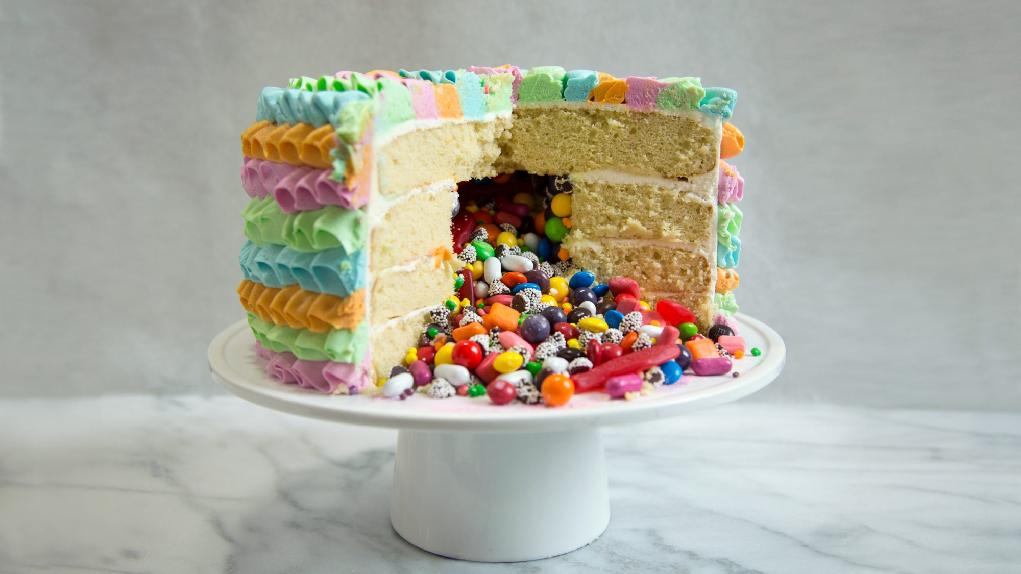 How to Make Piñata Cake, the Ultimate Cinco de Mayo Dessert
