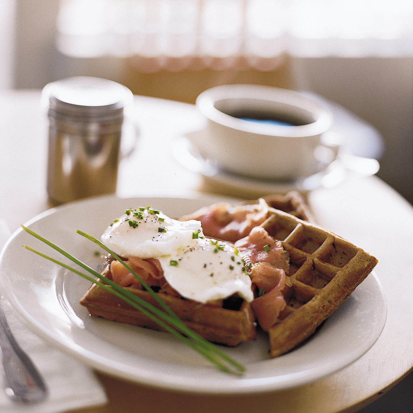 Pumpernickel Waffles