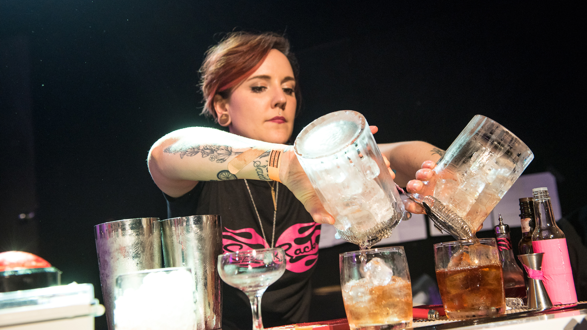 Watch the Fastest, Fiercest Female Mixologists in Action at Speed Rack This Weekend