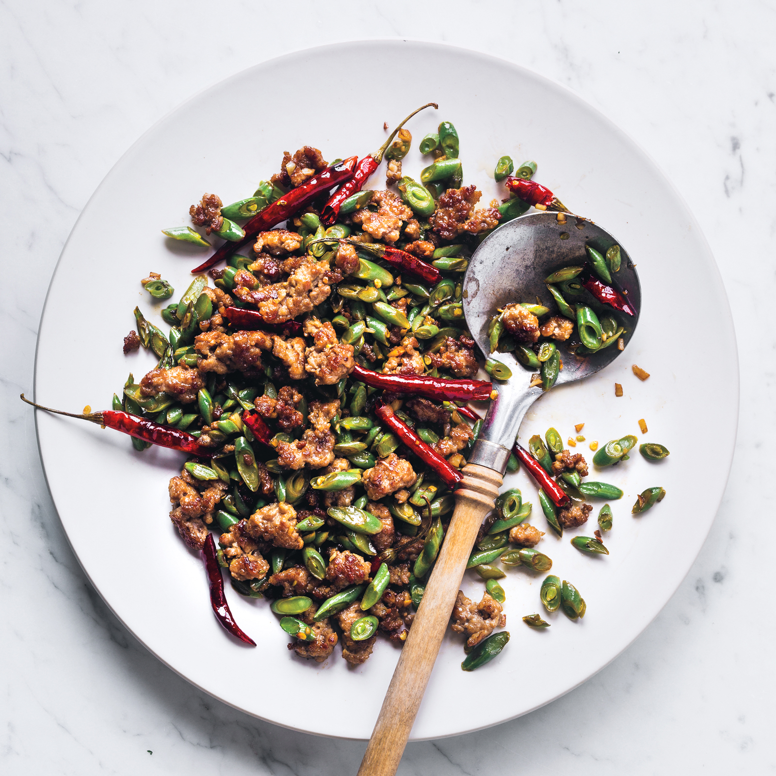 Spicy Pork Stir Fry