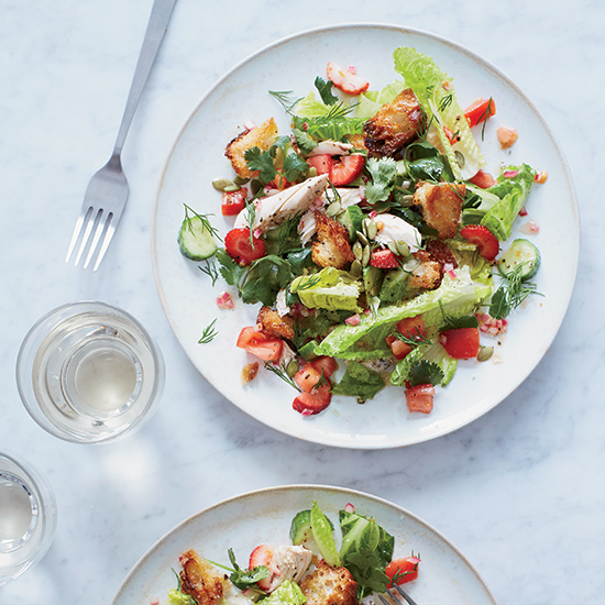 Add Berries to Your Summer Salads