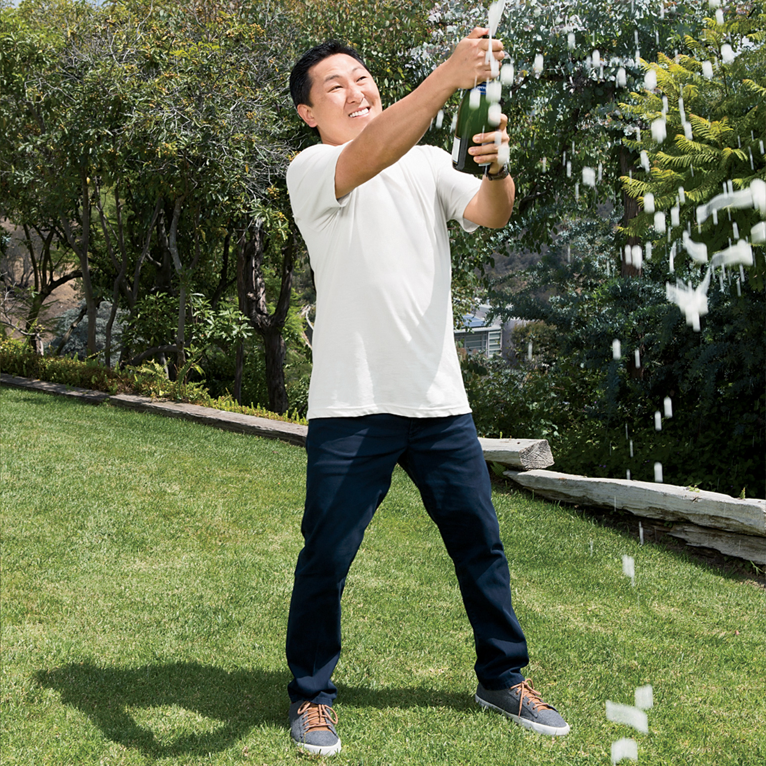 Chef Sang Yoon Makes a Case for Bubbles