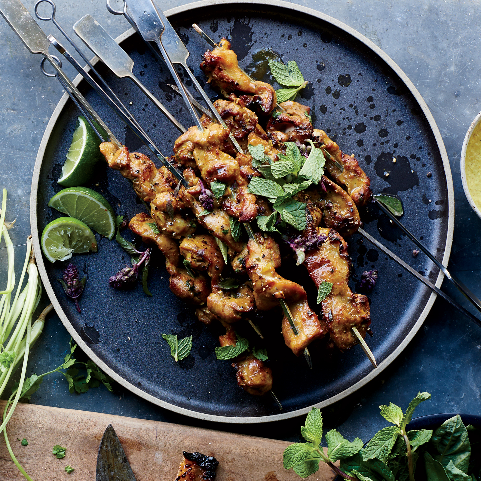 Chicken Curry Skewers