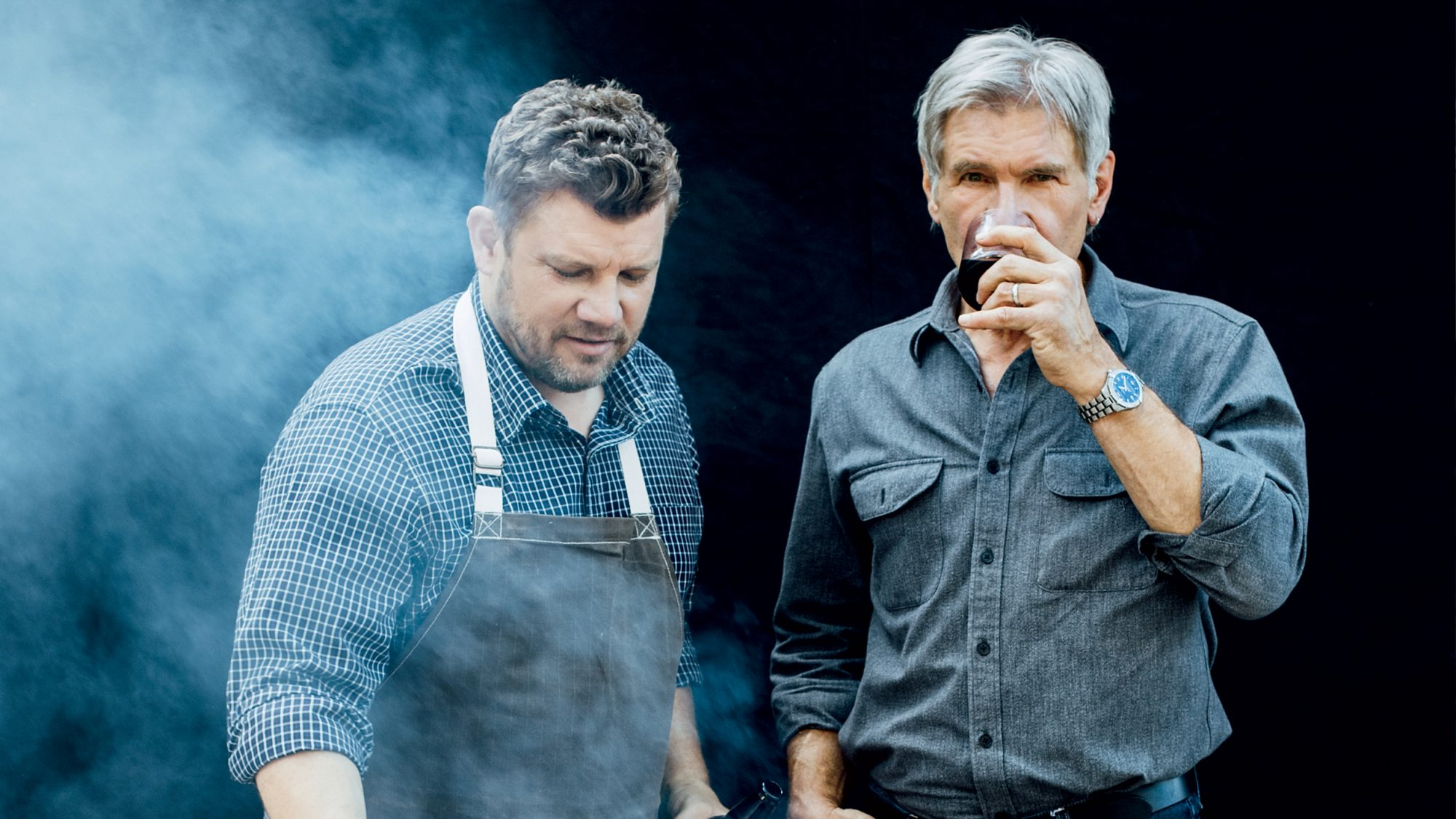 Harrison Ford and Ben Ford
