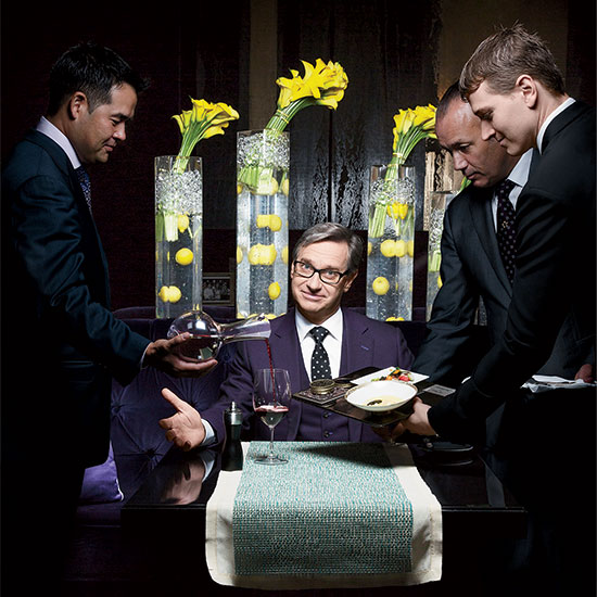 For Fine Dining Fanatic Paul Feig, Downton Abbey is Like Porn