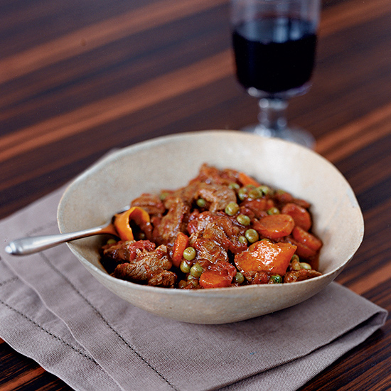 Citrus-Scented Lamb Stew
