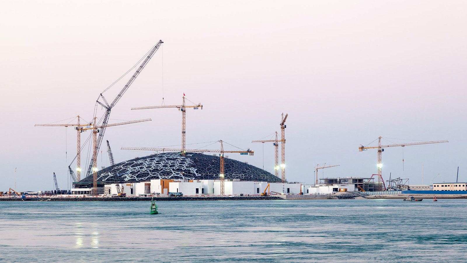 Inside Look at the Floating Louvre Museum in Abu Dhabi