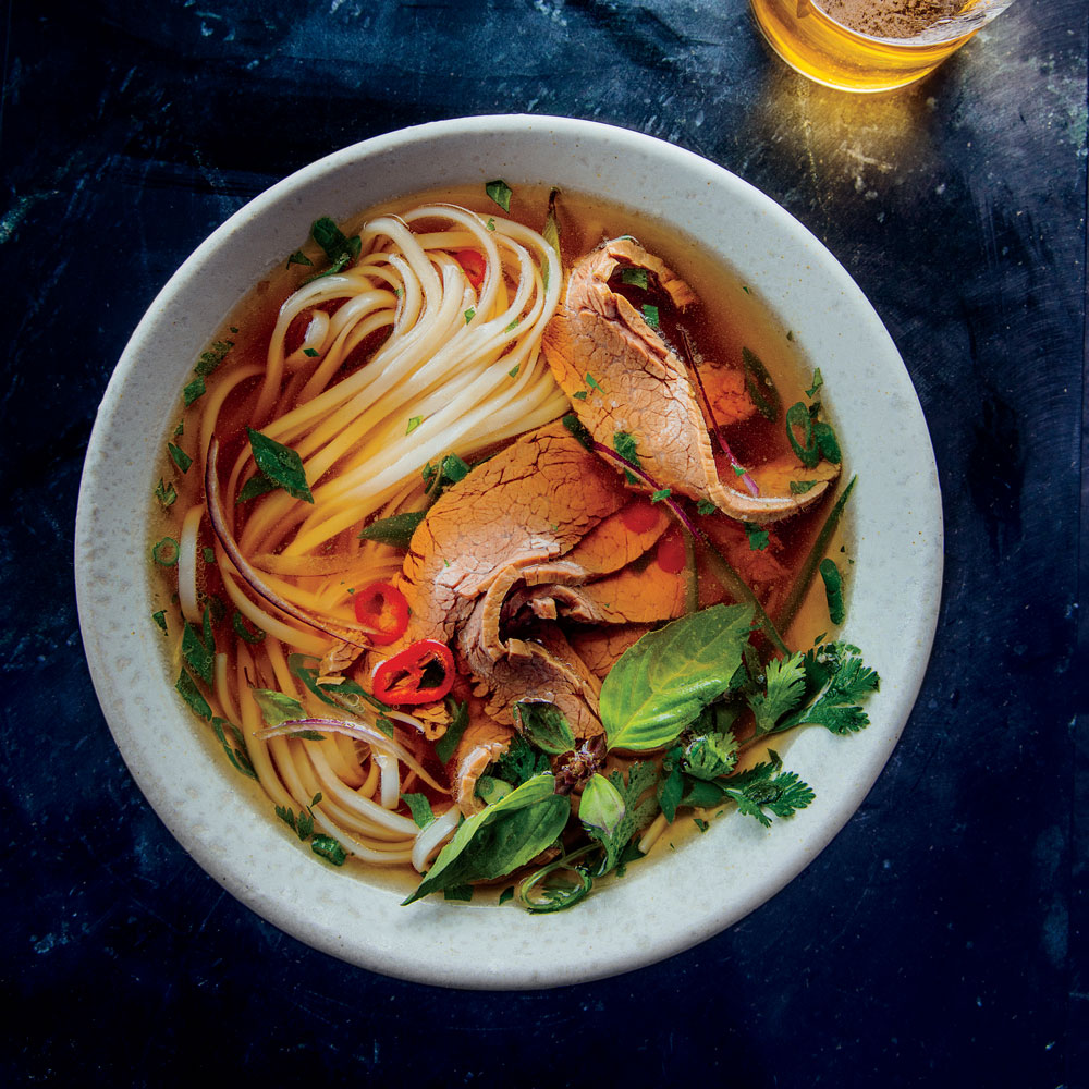 Mrs. Tran's Master Pho Broth with Flank Steak