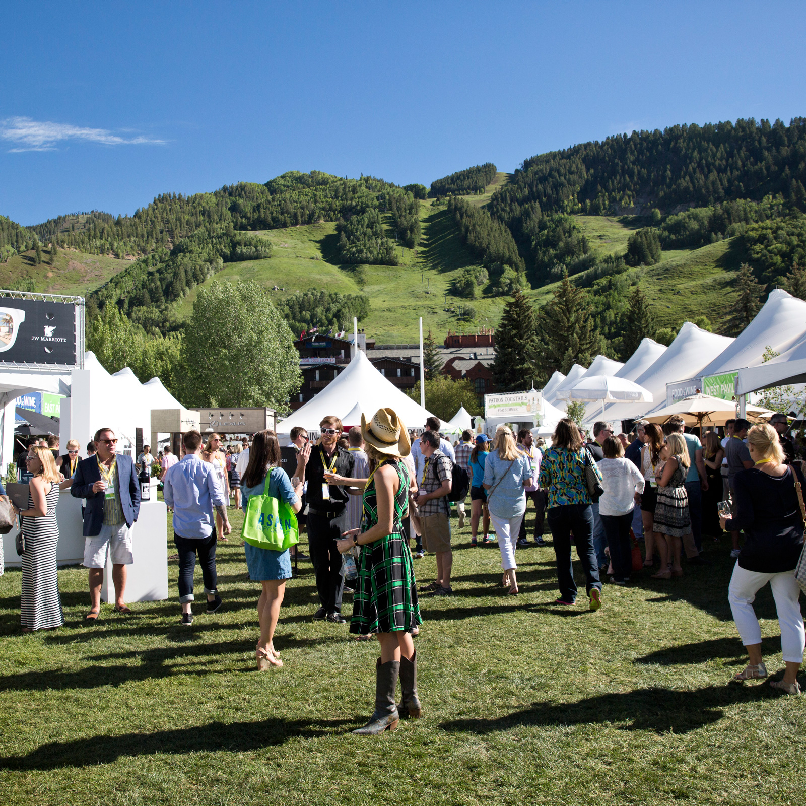 mkgalleryamp; Wine Festival in Aspen