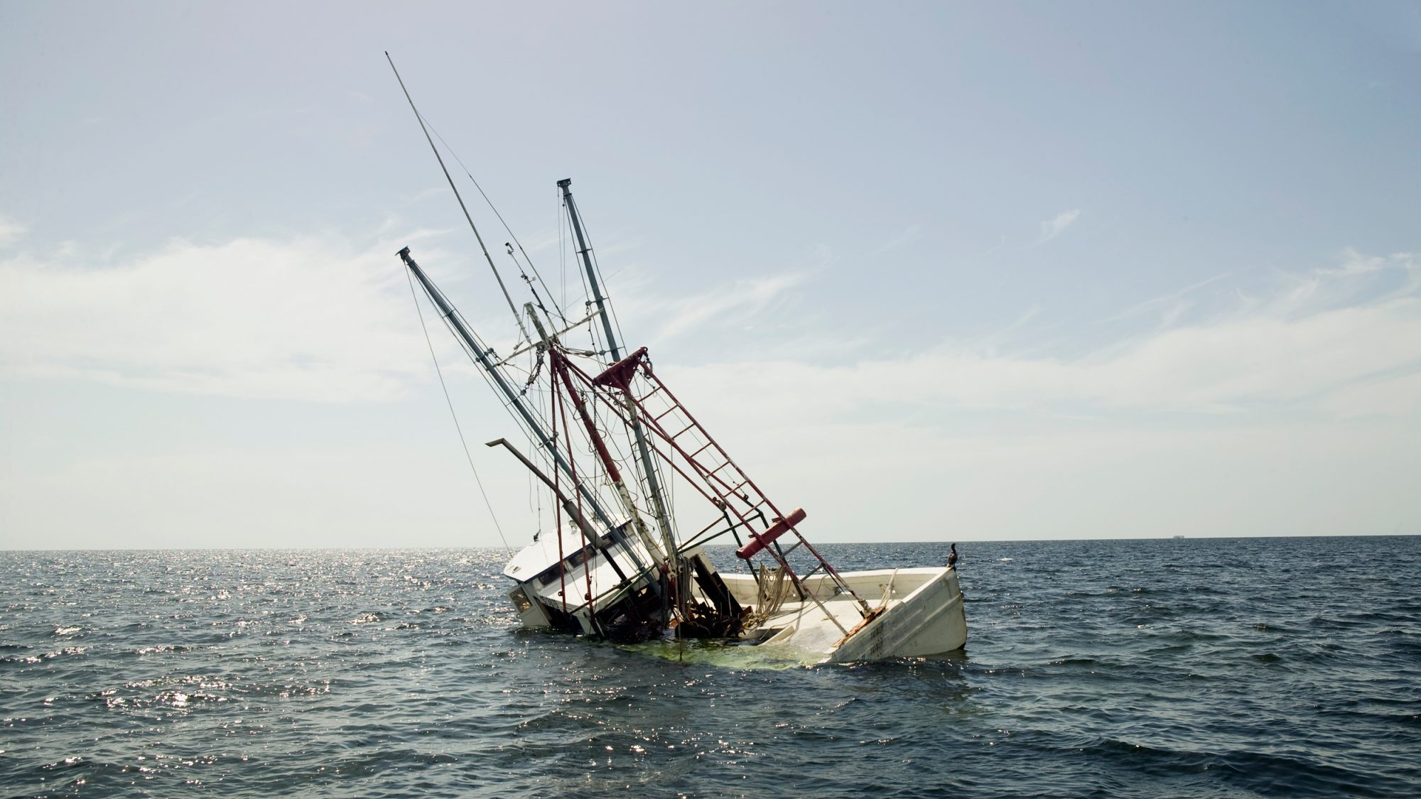 Man Saves His Sinking Boat With A Vodka Cork