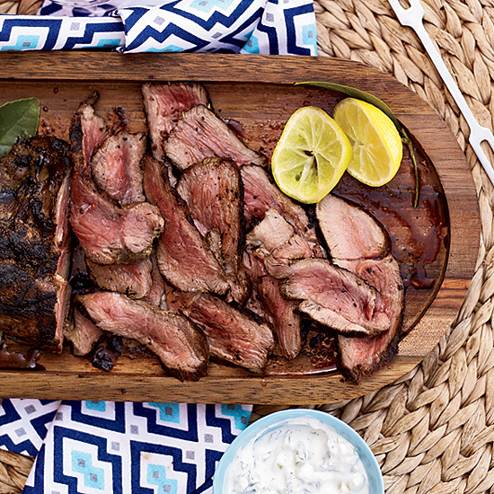 Leg of Lamb with Tzatziki