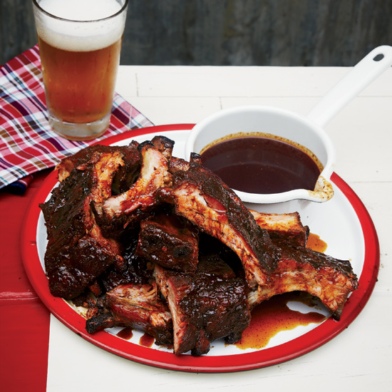 Molasses-Smoked Baby Back Ribs