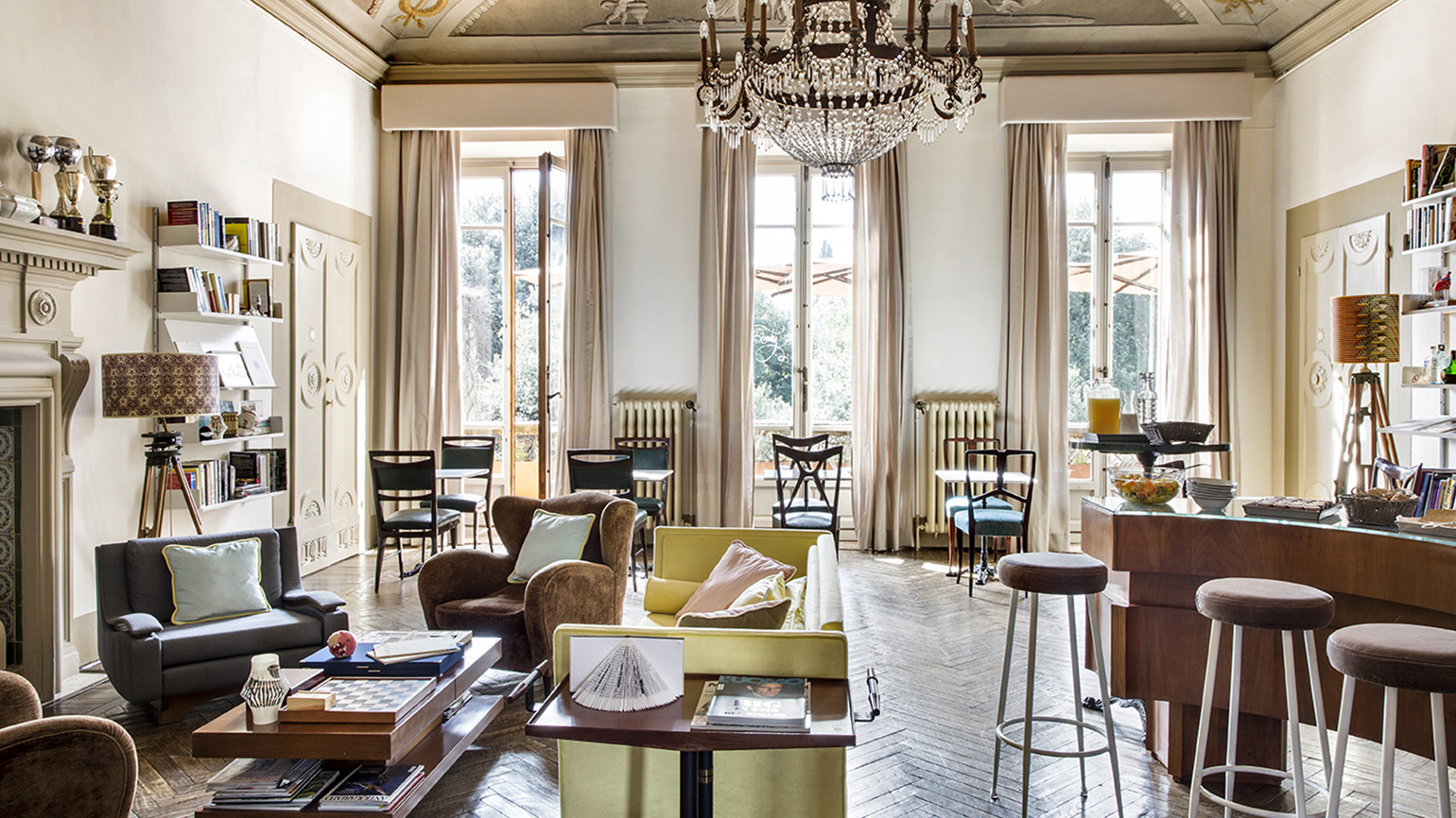 This 19th-Century Italian Palazzo is Now a Luxe Bed and Breakfast