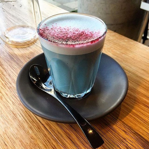 Algae Latte at Matcha Mylkbar