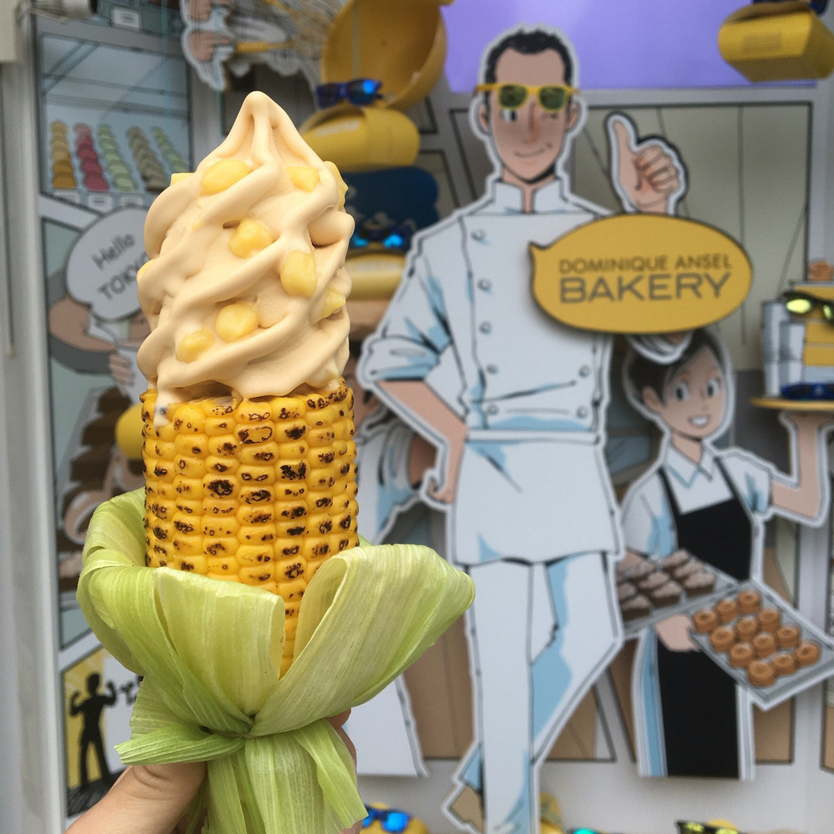 Corn Ice Cream on a Grilled Corn Cob Is Dominique Ansel's Newest Dessert