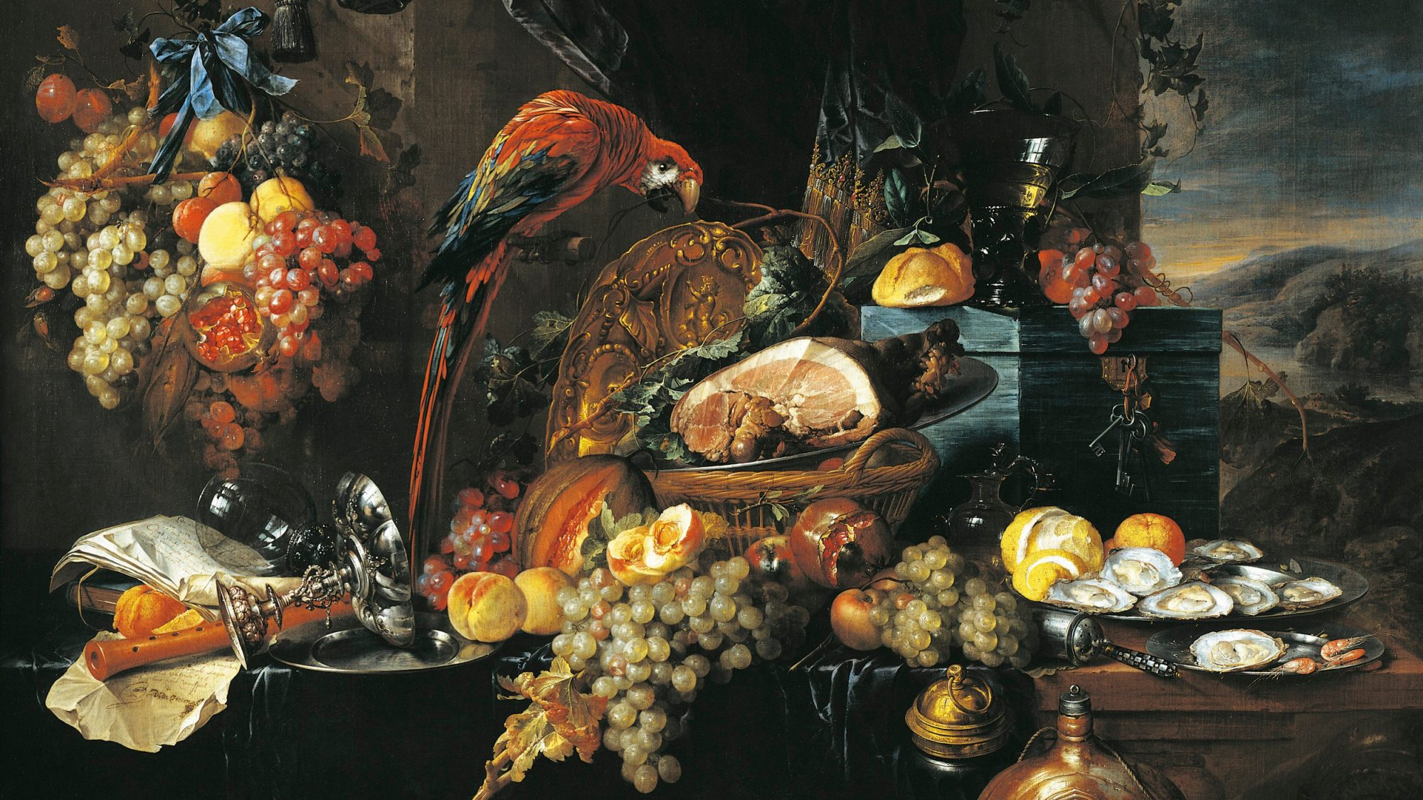 Old World Kitchen Renaissance Food Paintings Were Meant To Induce Fomo