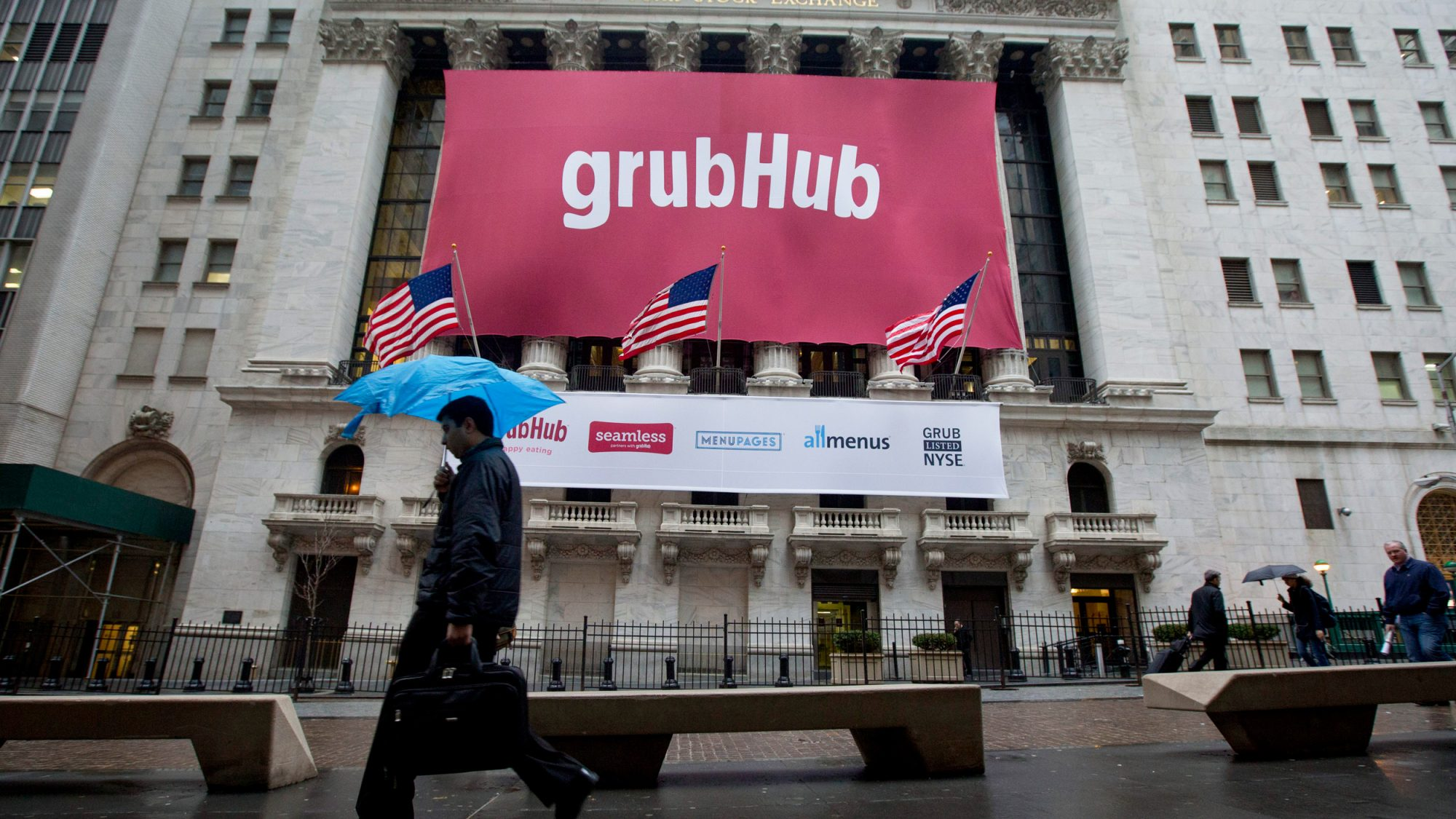 Grubhub Share Prices