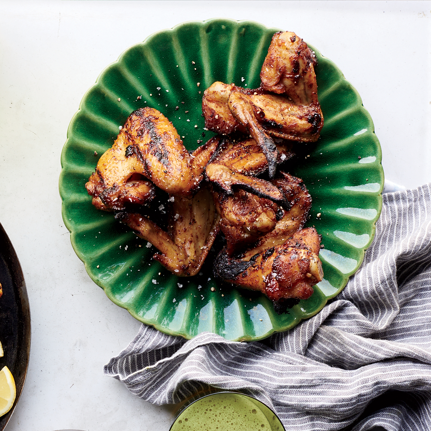 Hill Country Smoked Chicken Wings with Texas Ranch Dressing