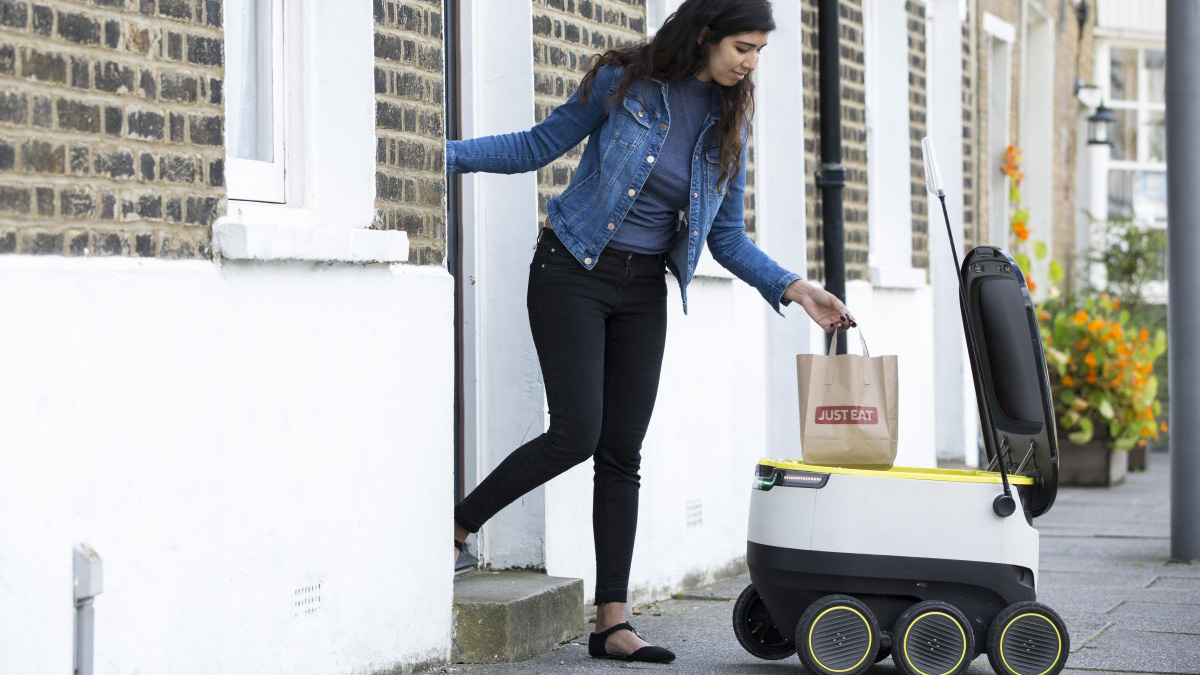 Robots Set to Deliver Food in Europe