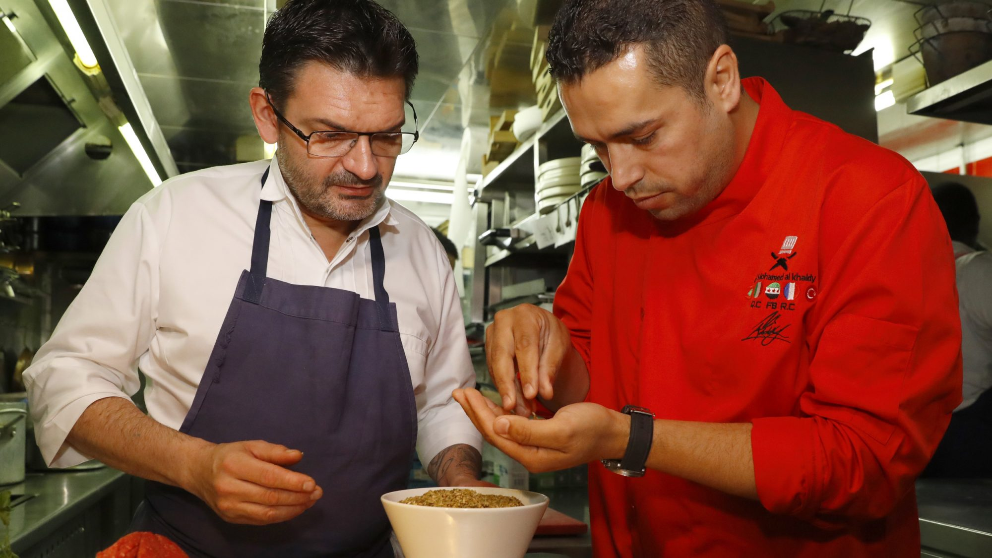 This French Organization Is Helping Refugees Through Food
