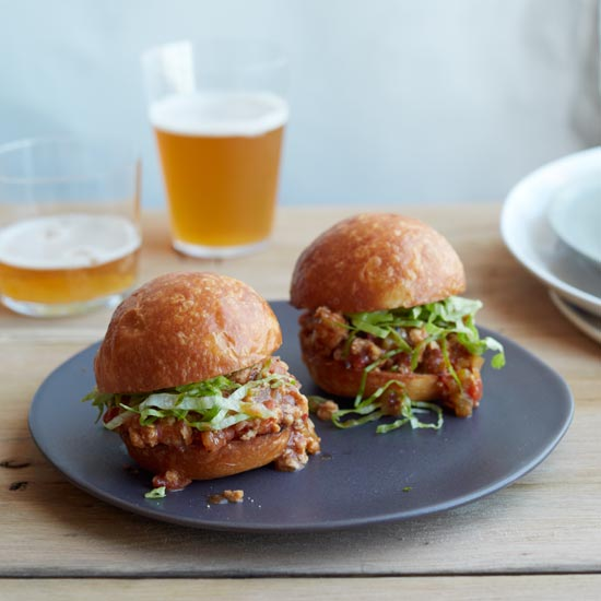 Asian Sloppy Joe Sliders