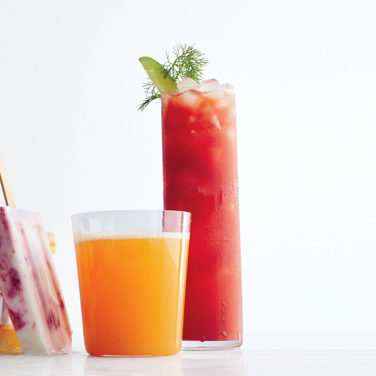 Aquavit and Fresh Tomato Bloody Mary