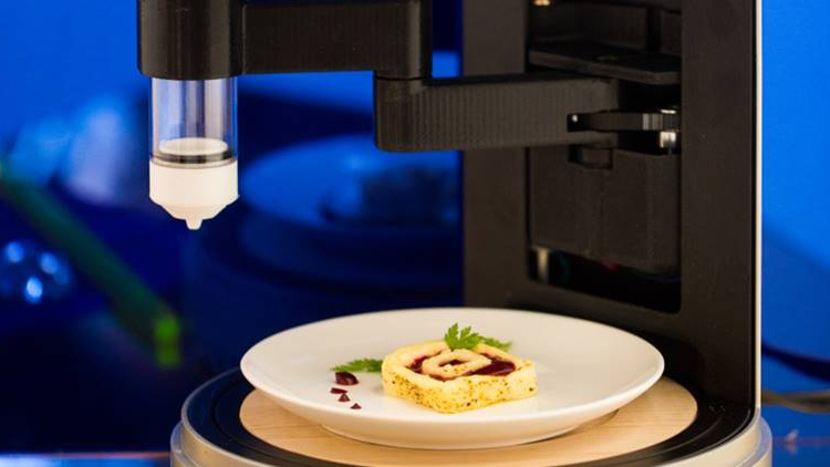 Home 3D Food Printer