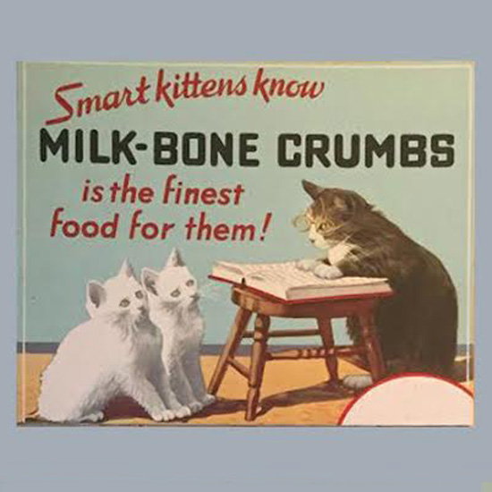 Vintage Milk Bone Ad