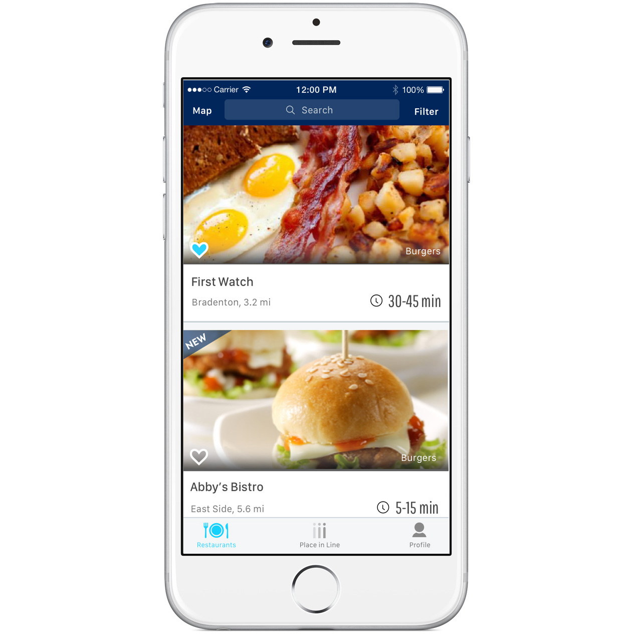This App Will Put Your Name on the List, Then Text You When Your Table Is Ready