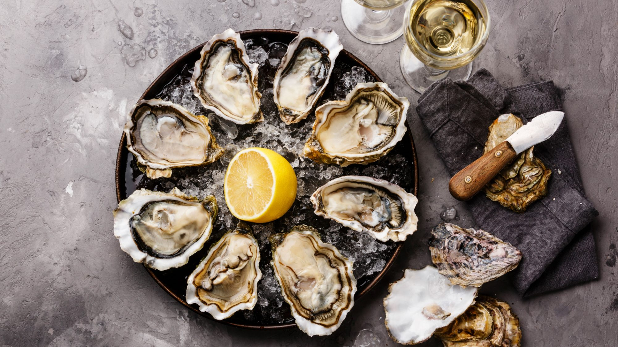 Oyster and Wine Pairings