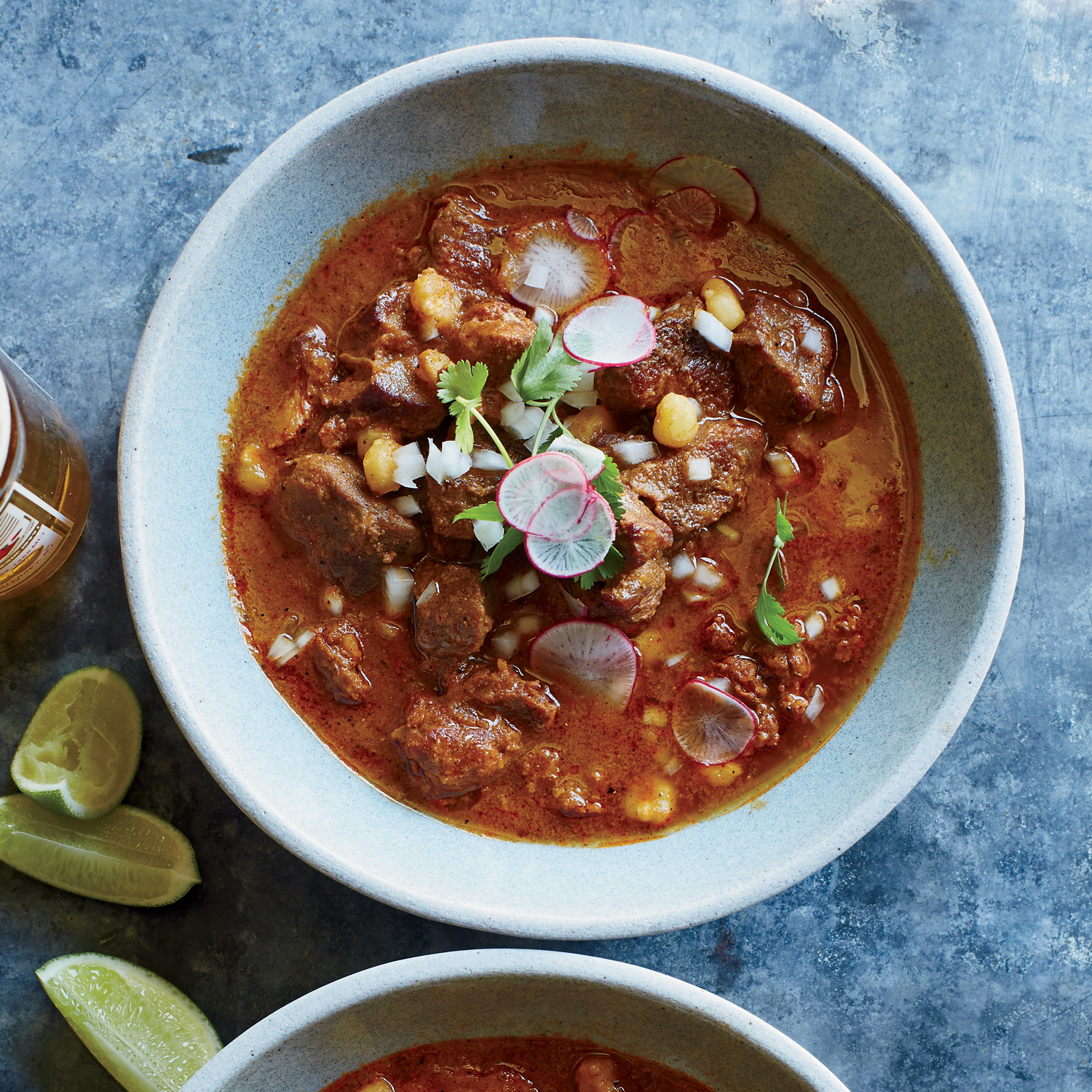 Pork and Chorizo Pozole