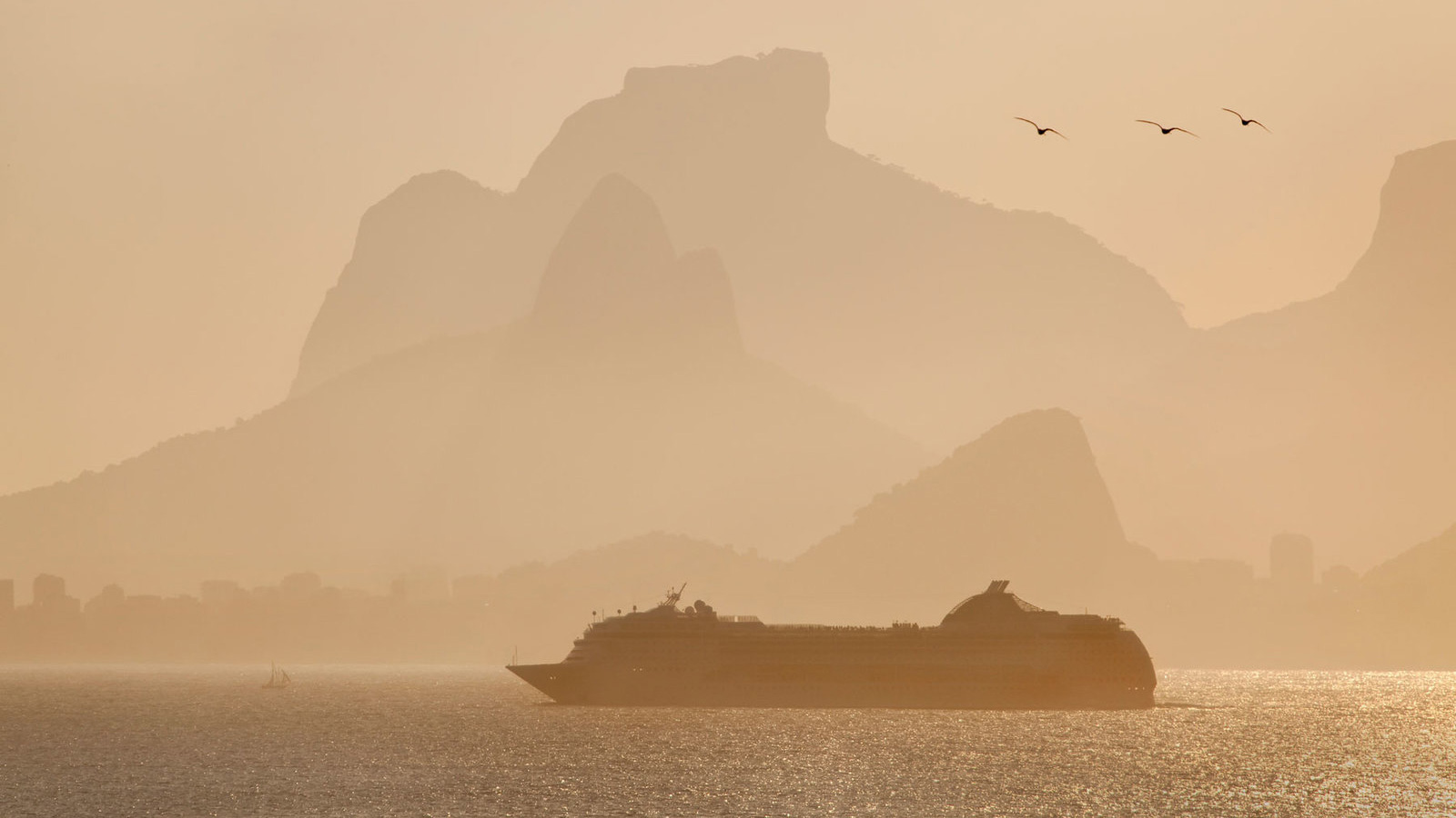 Cruise Ships Double as Floating Hotels for the Rio Olympics