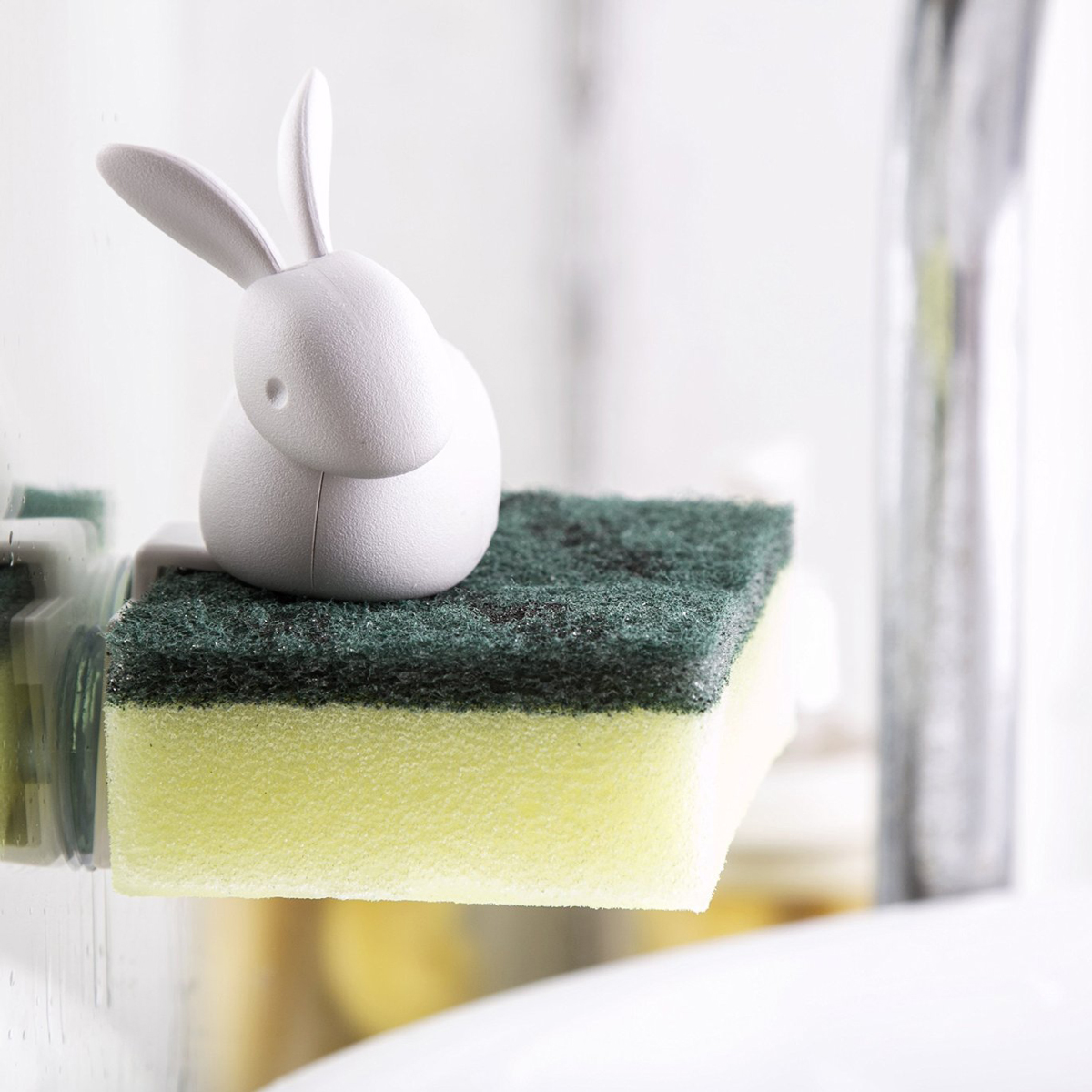 Bunny Rabbit Sponge Holder