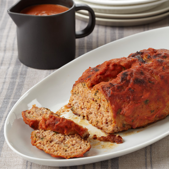 Pork Meat Loaf with Chickpeas
