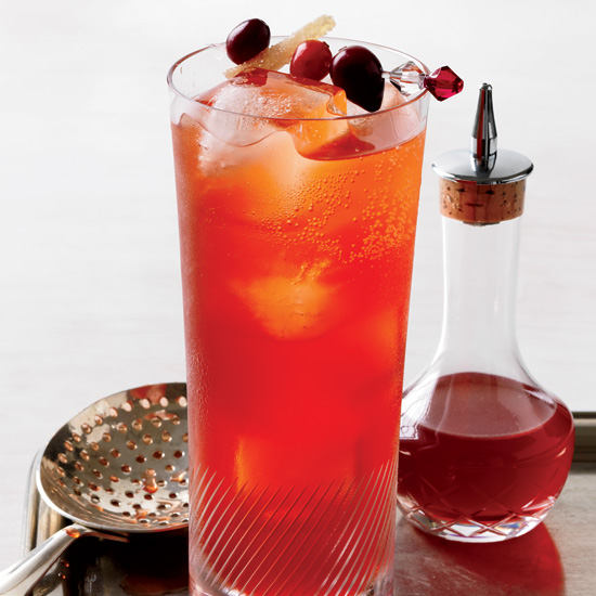 December 1: Cranberry-Spice Cocktail