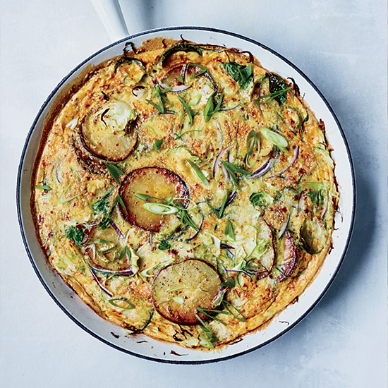 Brussels Sprout Tortilla