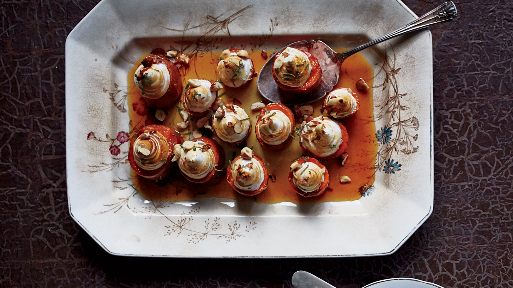 Sweet Potatoes with Toasted Marshmallow Swirls