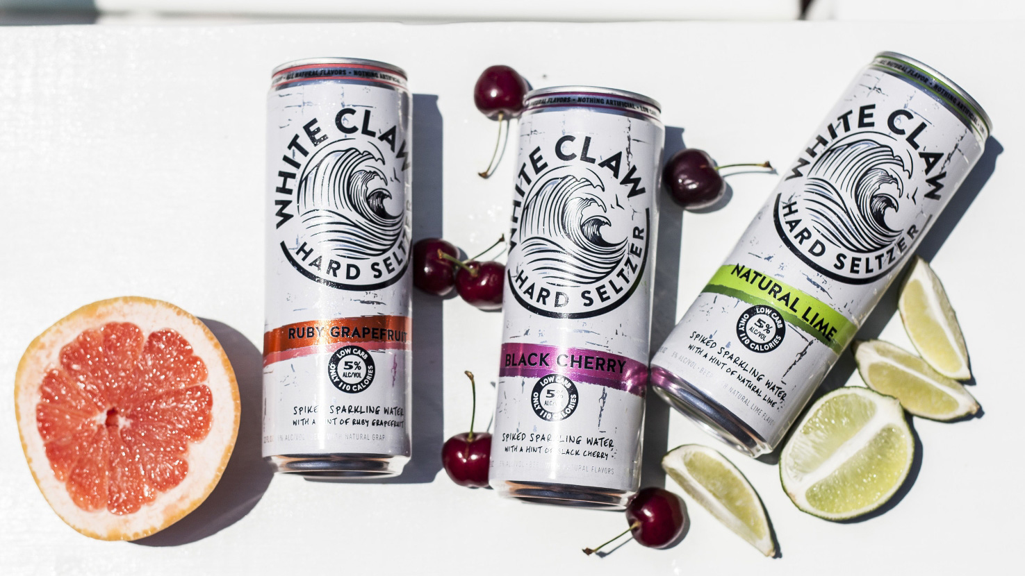 White Claw Hard Seltzer, spiked seltzer