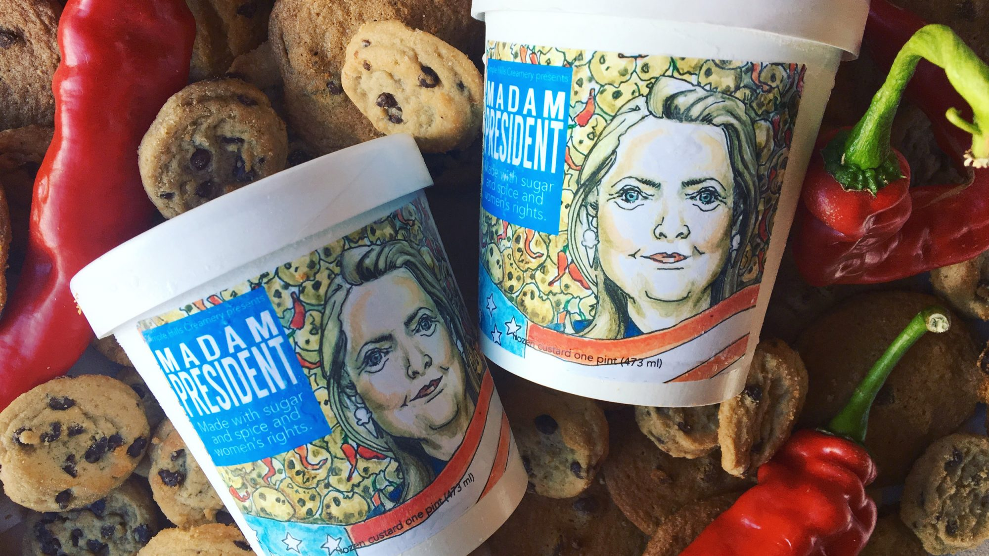 Ample Hill Hillary Clinton Ice Cream