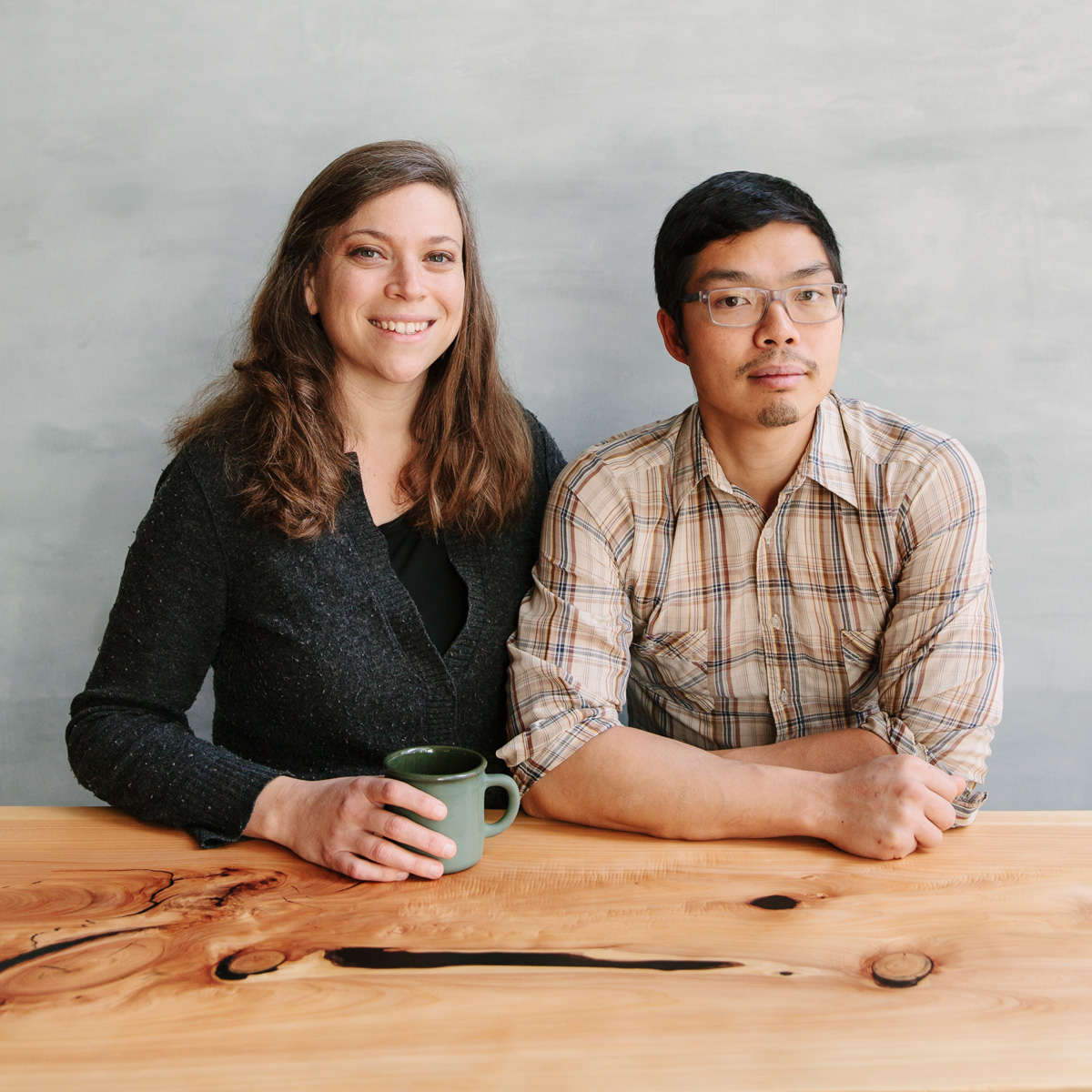 Karen Leibowitz and Anthony Myint