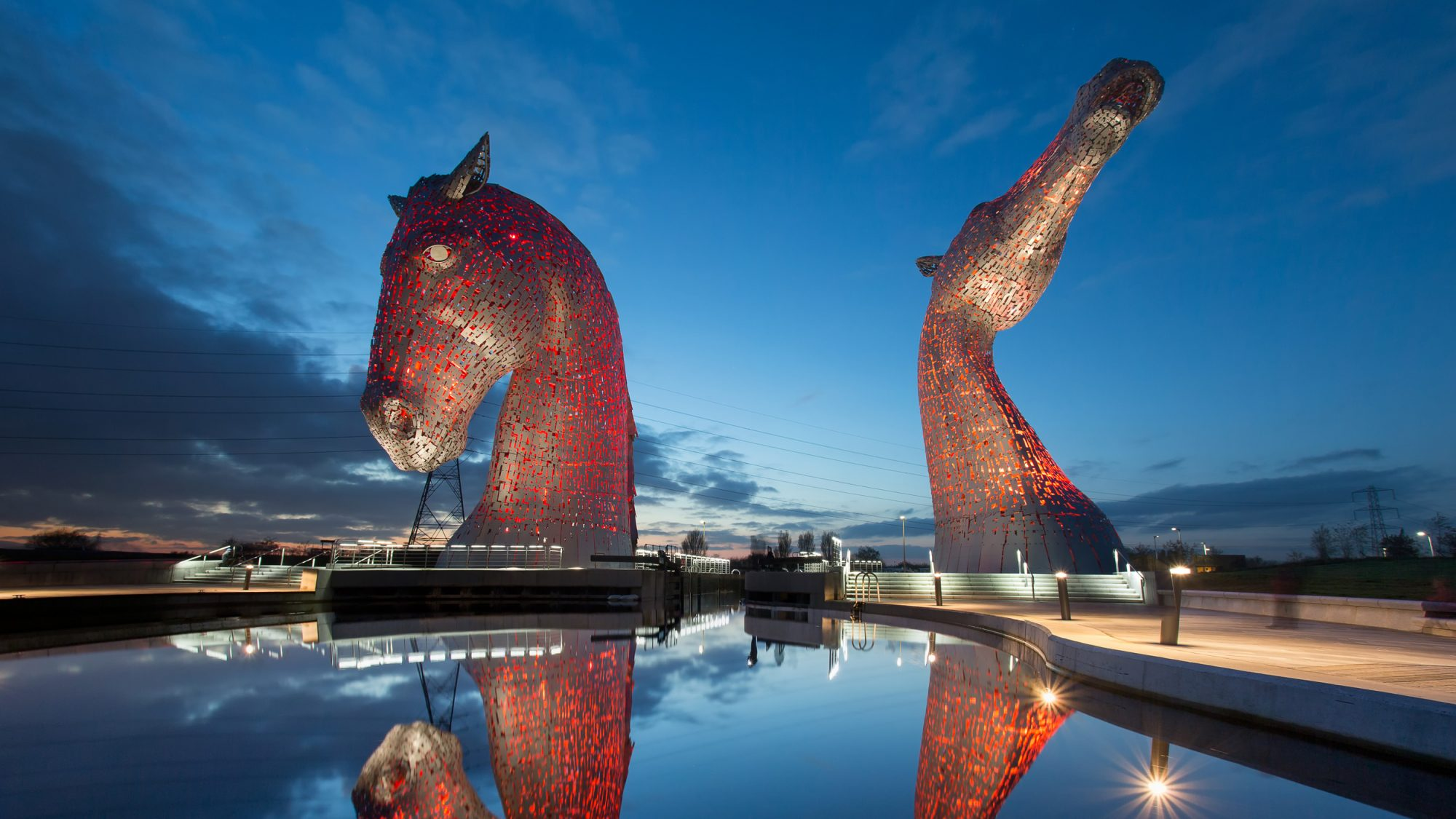 Kelpies Scotland